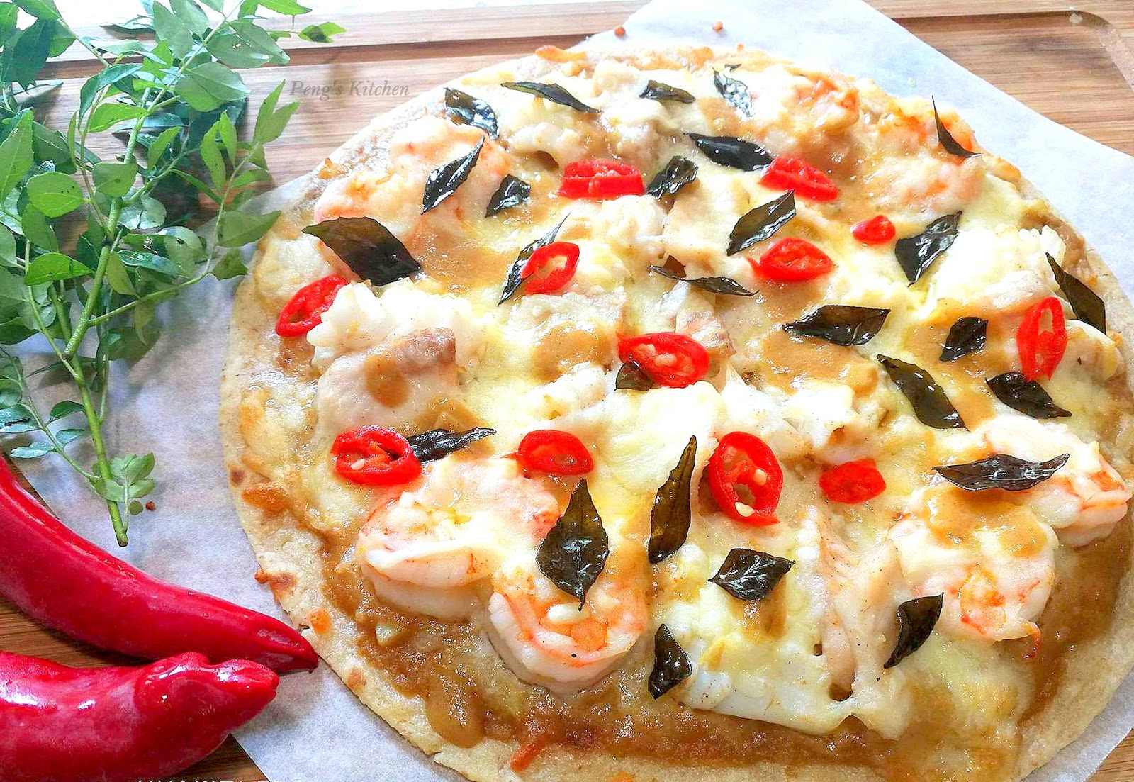 Domino's Salted Egg Pizza